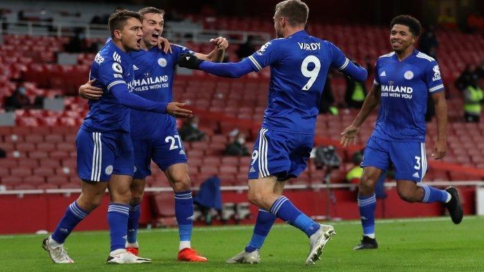 Hasil Liga Inggris - Bungkam West Bromwich 3-0, Leicester City Mantap ke Peringkat 3 Klasemen