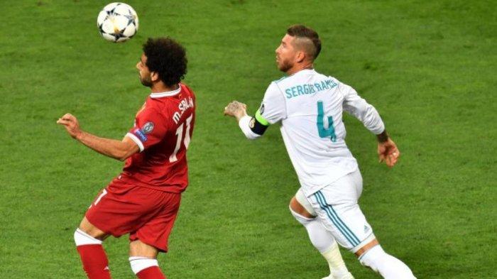 VIDEO - Sisi Lain Pelanggaran Sergio Ramos Terhadap Mohamed Salah, Siapa yang Cari Gara-gara?