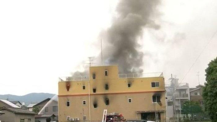 Gedung Kyoto Animation Dibakar Hingga Tewaskan 33 Orang, Pelaku Diduga Dendam Idenya Dicuri