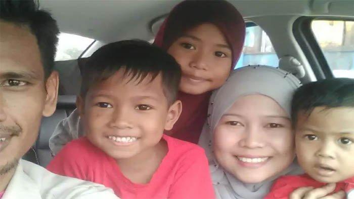 Suami dan Tiga Anak Nangis Terima Kabar Istri Meninggal, Tak Dapat Bertemu untuk Terakhir Kali