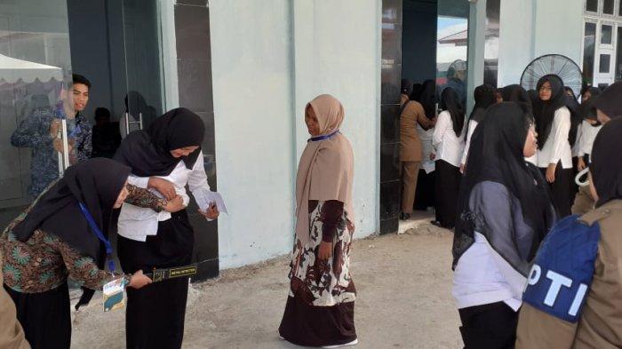 Ini Jumlah Peserta yang Gugur Tes CPNS di Aceh Jaya karena tidak Hadir