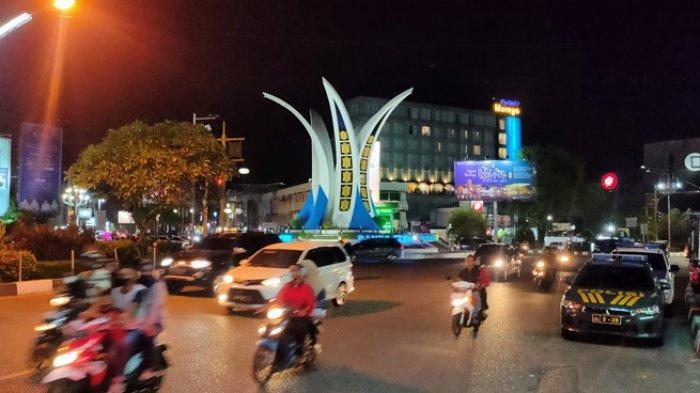 Malam Idul Fitri 1442 Hijriah di Banda Aceh Tanpa Takbiran, Jalan Tampak Lebih Lengang