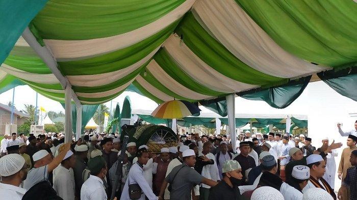 Habib Muhammad Meninggal Sehari Usai Peresmian Masjid, Sempat Shalat dan Tunjuk Lokasi Makam