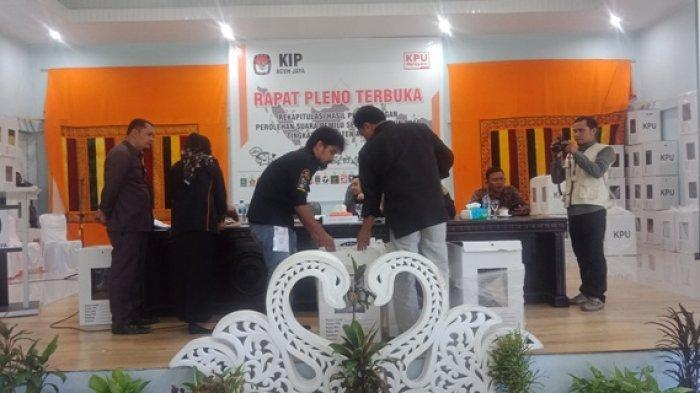 KIP Aceh Jaya Pleno Suara Tingkat Kabupaten Hari Ini