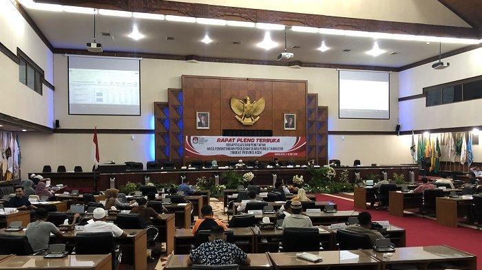 Pleno KIP Aceh Memasuki Tahap Terakhir, Giliran KIP Aceh Besar Baca Rekapitulasi