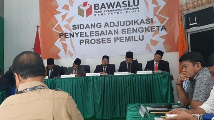 Empat Saksi Dihadirkan dalam Sidang Sengketa Pemilu di Pidie