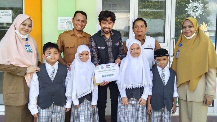 Siswa SDIT Muhammadiyah Lhokseumawe Salurkan Donasi Rp 1,5 juta untuk Palestina