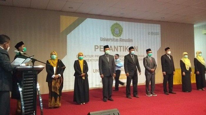 Rektor UmuslimLantik Direktur Pascasarjana, Dekan dan Direktur Diploma III