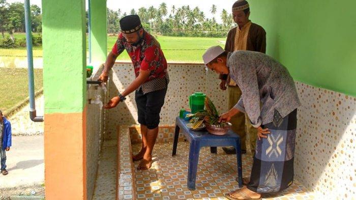 Global Wakaf ACT Dirikan Sumur Wakaf, Warga Buket Pala Aceh Timur Kini Mudah Berwudhu