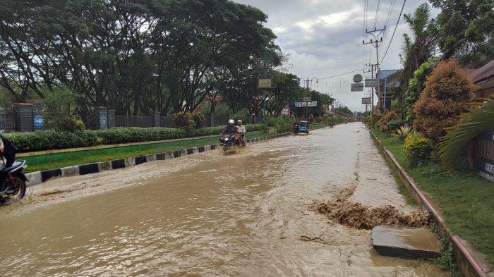 Kerusakan BPBD Aceh Tenggara Sungai Lawe Tuban Belum Diperbaiki, Ini Penyebabnya