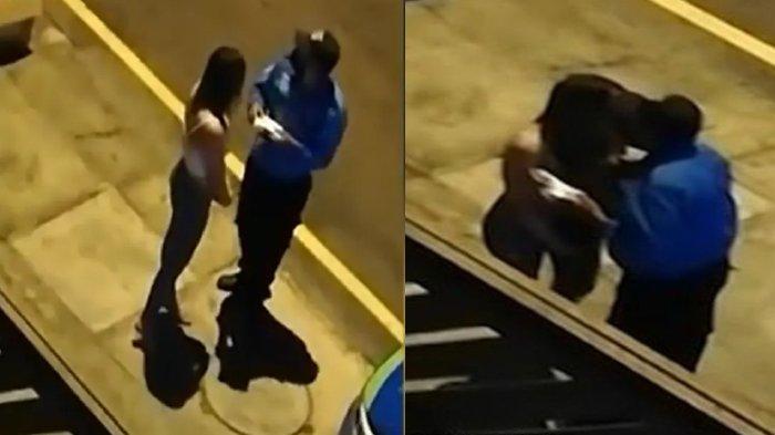 Surat Tilang Diganti Ciuman Bibir, Polisi dan Wanita tak Sadar Ada yang Rekam Hingga Viral