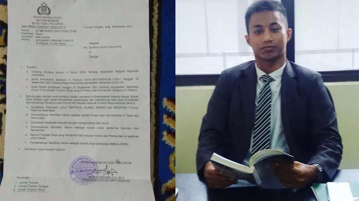 Beredar Surat Pemberlakuan Sertifikat Vaksin Sebagai Syarat Pembelian BBM di SPBU di Aceh Selatan