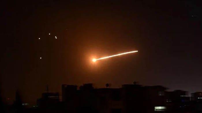 Jet Tempur Israel Gempur Palmyra, Suriah dan Sekutu Bersumpah Akan Balas Serangan Israel
