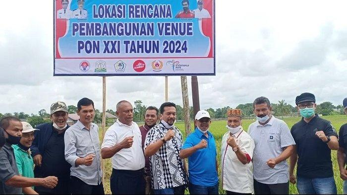 Aceh Utara Siapkan Lahan 240 Hektare untuk Venue PON 2024, Ini Lokasinya