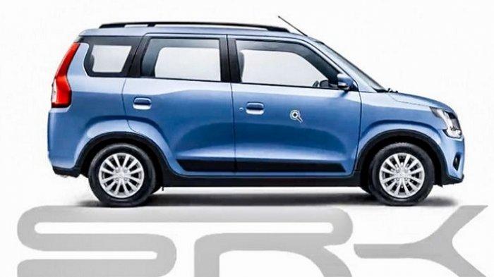 Ini Tampang Suzuki Wagon R Tiga Baris, Akan Beredar di India