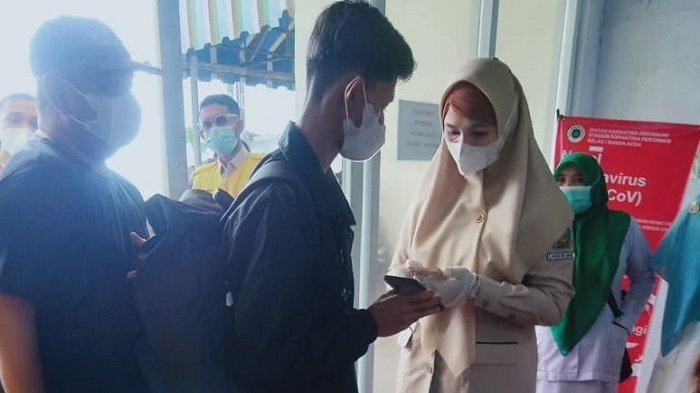Siap-siap! Penumpang Tiba di Bandara Malikussaleh Aceh Utara Akan Diswab Antigen