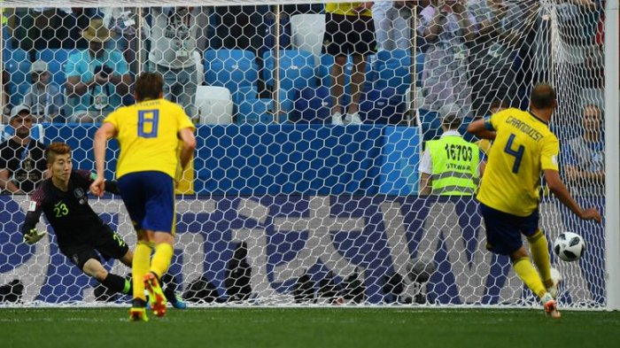VAR dan Penalti Penentu Kemenangan Swedia Atas Korea Selatan