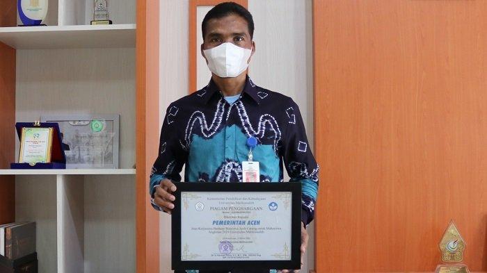 Unimal Beri Penghargaan untuk Pemerintah Aceh