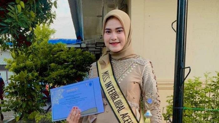 Syarifah Ichwatussina, Mahasiswi STIKesMu Lhokseumawe Wakili Aceh di Ajang Miss Interglobal Nasional