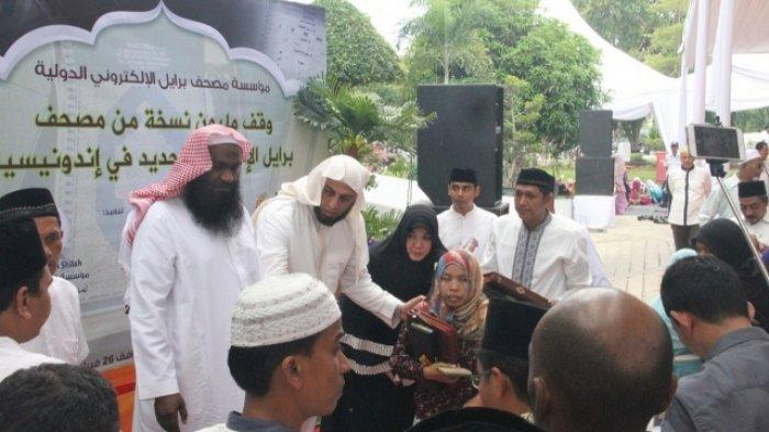 Kisah Syekh Ali Jaber yang Ingin Berdayakan Tunanetra di Aceh untuk Jadi Muazzin, Qari & Imam Shalat