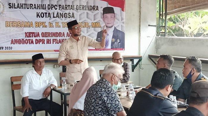 TA Khalid Bertemu Kader dan Relawan Khusus di Langsa
