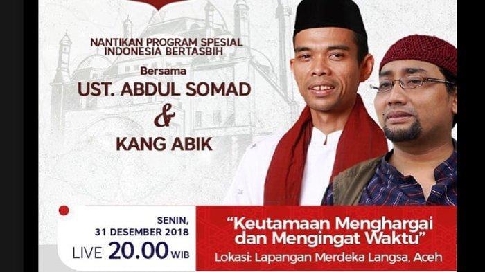 Ustadz Abdul Somad Tiba di Langsa, Sore Ini Ceramah di IAIN, Nanti Malam di Lapangan Merdeka