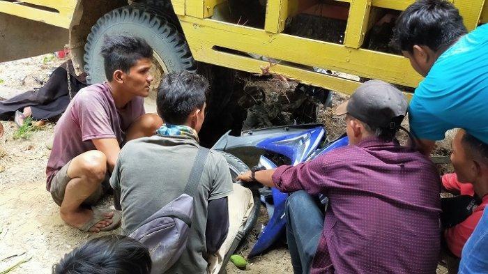 Ini Identitas Dua Anak Meninggal Ditabrak Colt Diesel di Aceh Timur