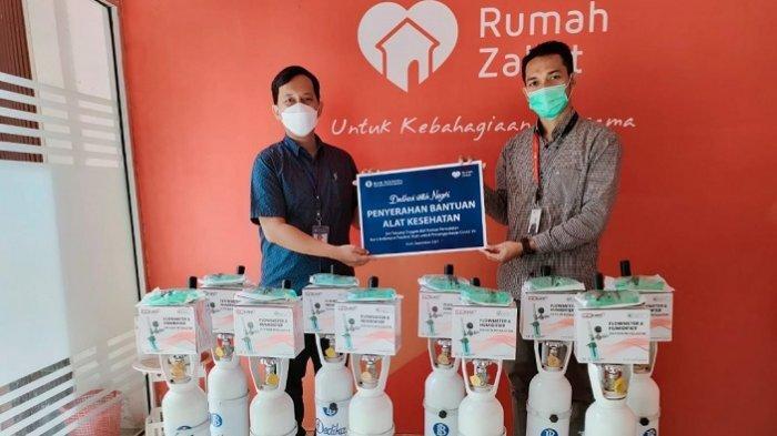 BI Gandeng Rumah Zakat Salurkan Tabung Oksigen