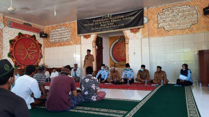 Belasan Napi Rutan Kelas IIB Banda Aceh Ikuti Kelas Tahfiz Alquran, Ini Tujuan yang Ingin Dicapai
