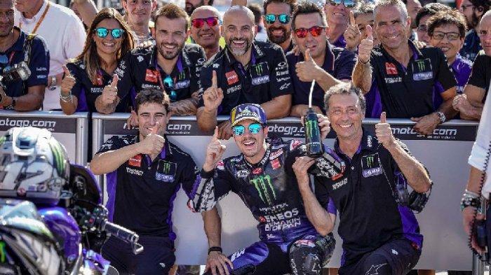 MotoGP 2021 - Tak Ada Dendam Kesumat, Maverick Vinales dan Yamaha Akhiri Hubungan Secara Baik-baik