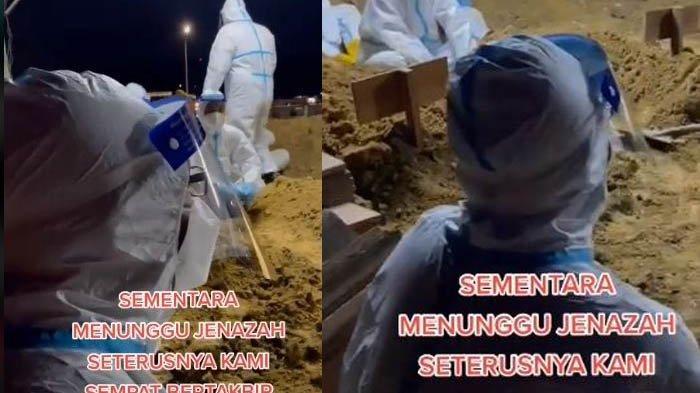 Takbir Idul Adha Sambil Menunggu Jenazah Pasien Covid-19 Tiba, Tim Medis: Mohon Maaf atas Silap
