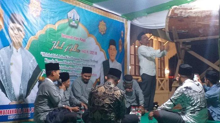 Grup Ipqah Tampil Bersama Dinas Syariat Islam Gelar Takbiran di Pendopo Bupati Bireuen