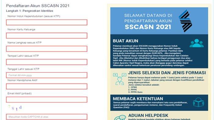 Waktu Pendaftaran CPNS 2021 & PPPK Tinggal 6 Hari Lagi, Begini Cara Cek Formasi dan Penempatannya