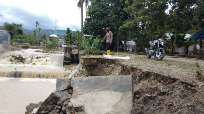Kurang Dana di Kabupaten, BPBD Pidie Laporkan Tanggul Patah di Tangse Akibat Banjir ke BNPB Jakarta