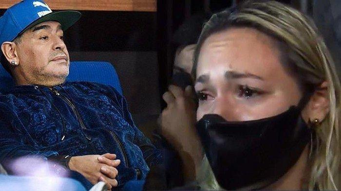 Mantan Pacar Maradona Nangis Ditolak Masuk Rumah Duka Untuk Lihat Jenazah, Disuruh Antre Bareng Fans