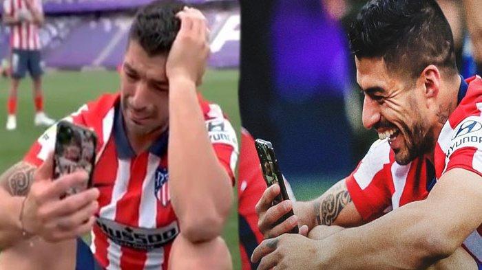 Tangisan Suarez Usai Bawa Atletico Madrid Juara Liga Spanyol, Sindir Barcelona: Dulu Saya Dibuang
