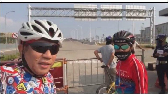 Viral Pesepeda Dilarang Masuk PIK harus Bawa Paspor, ini Penjelasan Wali Kota Jakut