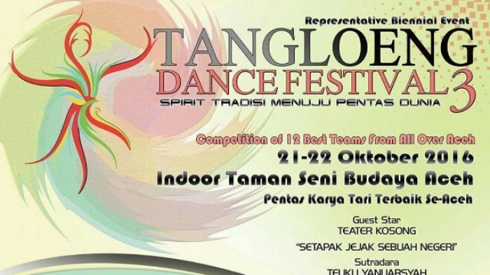 Malam Ini Tangloeng Dance Festival III Dibuka
