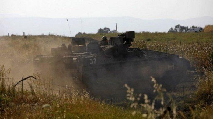 Helikopter Tempur Israel Bombardir Pos Militer Hizbullah