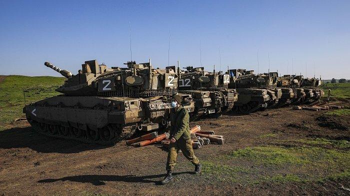 Jet Tempur Israel Gempur Suriah, Satu Tentara Tewas