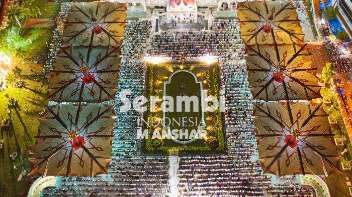 FOTO- FOTO: Tarawih Malam Pertama Ramadhan 1440 H di Masjid Raya Baiturrahman - tarawih2.jpg