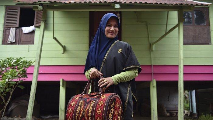 Keren, Bordir Aceh dari Montasik Makin Banyak Peminat
