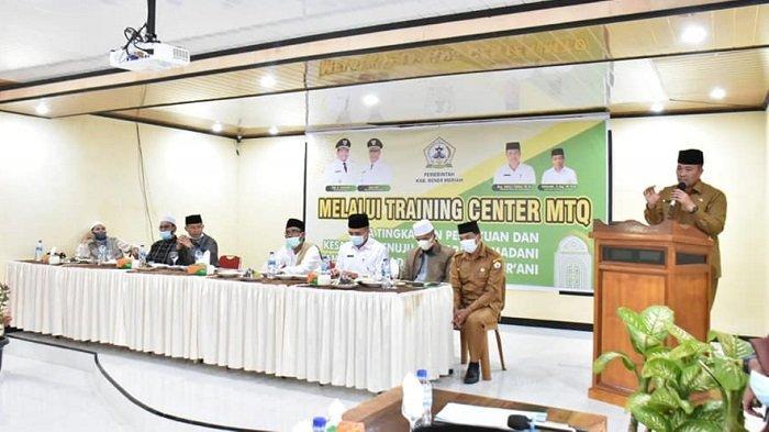 Puluhan Kafilah Ikut TC Persiapan MTQ Provinsi Aceh