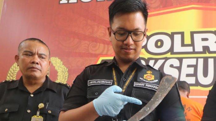 Hanya Gegara Buah Kelapa, Pria Muara Dua Ini Tebas Leher Purnawirawan TNI AD Hingga Meninggal