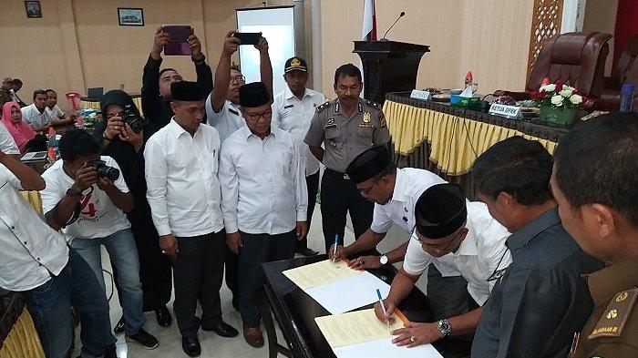 Abdya Resmi Terapkan E Kinerja Pegawai Kerjasama Dengan Pemerintah Kota Banda Aceh Serambi Indonesia