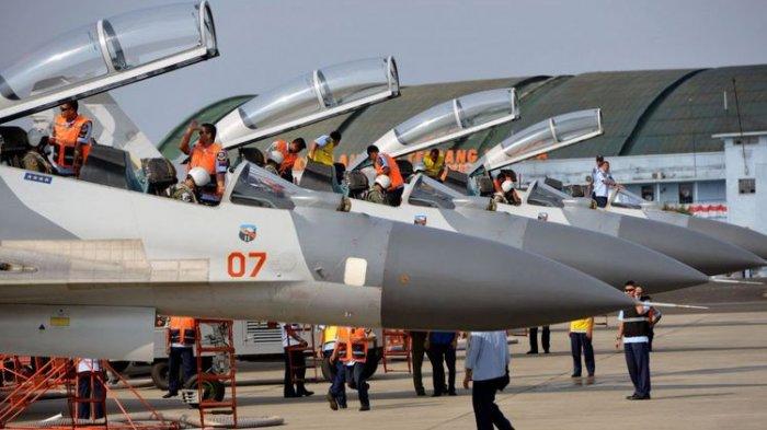 TNI AU akan Bangunkan Warga saat Sahur dengan Pesawat Tempur, Ini Daerah yang Dilewati