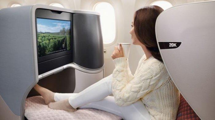 Etihad Airways hingga Singapore Airlines, Berikut 5 Maskapai Terbaik di Dunia Versi Tantra Tobing