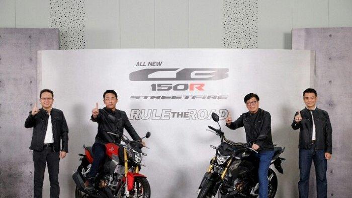 Motor Naked Sport All New CB150R Streetfire Tampil Semakin Gagah