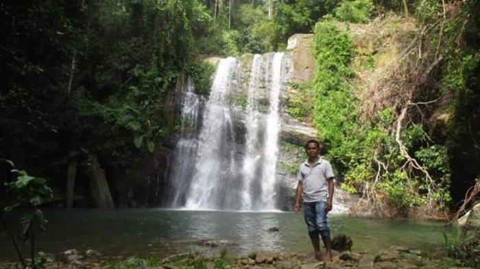 KotatuaTemukan Objek Wisata Tersembunyi Telaga Air Terjun di Kecamatan Kota Bahagia Aceh Selatan