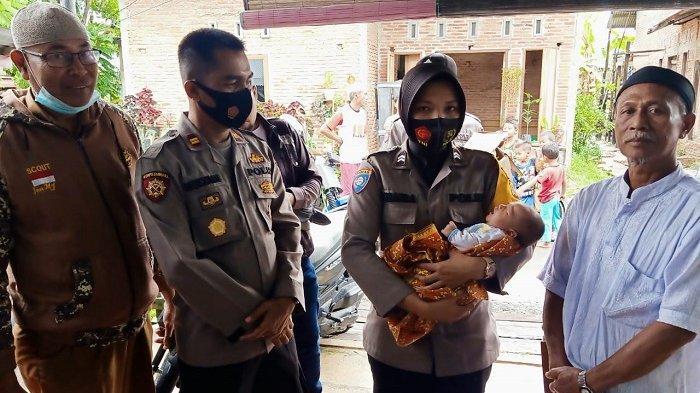 Mau Shalat ke Masjid, Warga Temukan Bayi Perempuan di Meja Kios Gampong Alue Dua Langsa Barat